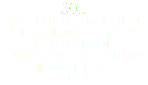 SO...